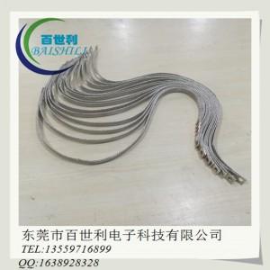 TZX镀锡铜编织带软连接,镀锡铜编织带接地线