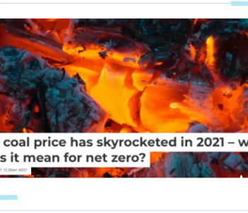 2021年世界市场煤炭价格暴涨——这对净零排放意味着什么?