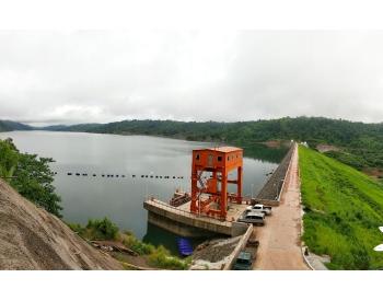 老挝会兰庞雅下游水电站完工移交