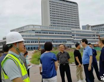 贵州赤水市委书记汪能科亲临一线关心浅层地温能项目推进情况