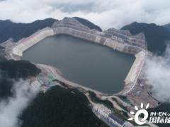 <em>长龙山抽水蓄能电站</em>2#输水系统开始充水