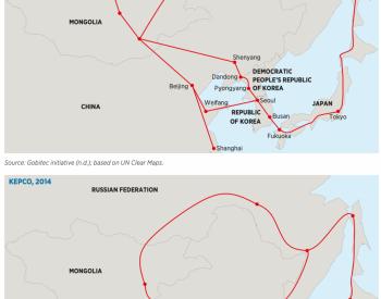 东北亚:中、俄、蒙、朝、韩、日电力联网的4种路
