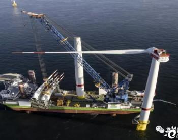 中远造的风电安装船升级起重机,将赴美国首个商业海上风场作业