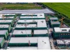 长春新能源汽车产业园工程A区主体全部封顶