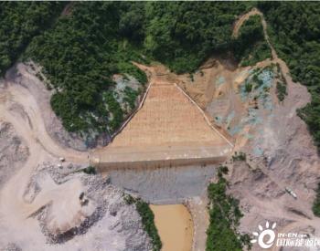 海南天角潭水利枢纽四座副坝全部填筑完成