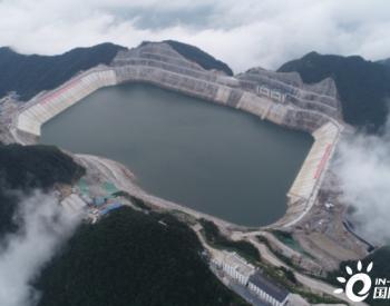 浙江省<em>长龙山抽水蓄能电站</em>2#输水系统开始充水