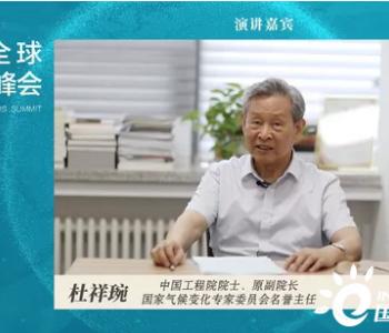 <em>杜祥琬</em>院士:双碳目标既是为了应对气候变化 更是为了中国的可持续发展