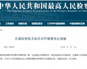 国家电网运行分公司原副局级调研员罗德彬被逮
