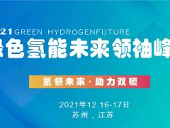 氢领未来·助力双碳   2021绿氢系列峰会——苏州
