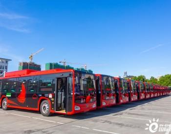全国首批碳纤维新能源巴士落地浙江嘉兴