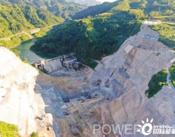 水电基础局承建贵州龙头水利工程凤山水库开启大坝