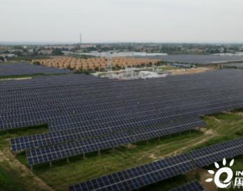 99MW!山东一建陕西大唐白水农光互补光伏EPC项目并网发电