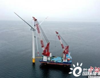 辽宁大连庄河海上风电风机安装刷新北方海域风机安
