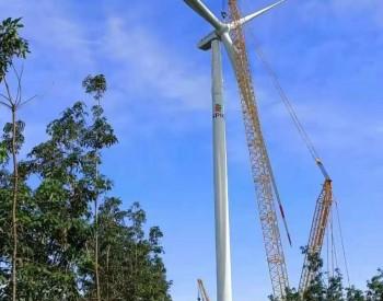 <em>运达股份</em>越南雅培项目首台机组完成吊装