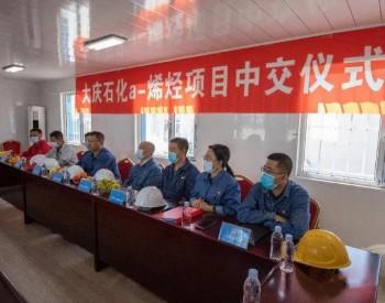 """中国石油""""辛烯等α-烯烃合成成套技术工业试验项目如期中交!"""