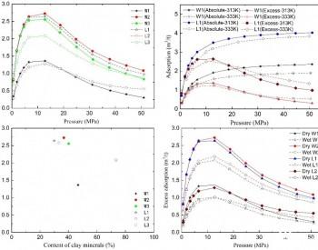 力学所在深层页岩气吸附行为研究中取得进展