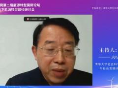 清华大学社会科学学院能源转型与社会发展研究中心主任李正风:本次论坛以推进能源转型战略的交流与合作为主要目的 (0播放)