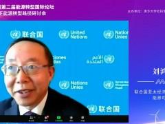 联合国亚太经济与社会委员会能源司司长刘鸿鹏:加快能源转型,是达到可持续发展的唯一出路 (0播放)