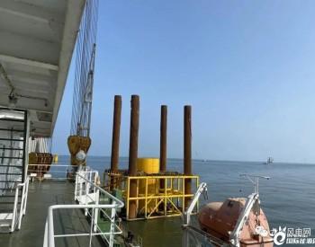 中交一航局承建!江苏启东海上风电项目施工节奏加快!