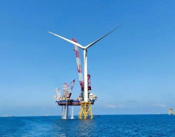 福建外海首台10MW海上机组完成吊装!
