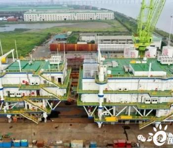中石油钻井平台首次进军海上风电!
