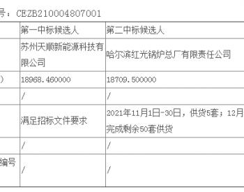 中标丨国华投资吉林乾安300MW风电项目塔筒采购公开招标中标候选人公示