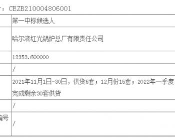 中标丨国华投资吉林乾安200MW风电项目塔筒采购公开招标中标候选人公示