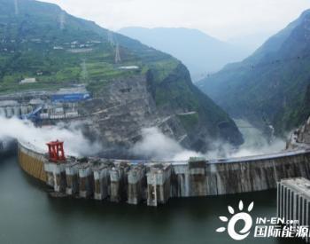 白鹤滩<em>水电站</em>坝前蓄水高程即将突破800米