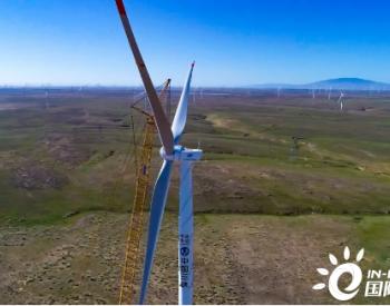 70MW!三峡能源宁夏利通风电项目24台风机全部吊装