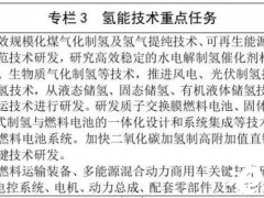 """加快氢气制取、存储、运输、应用一体化发展!内蒙古自治区科技创新""""十四五""""规划发布!"""