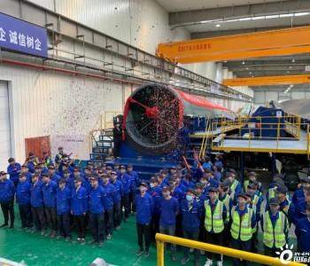 东方风电内蒙古兴安盟基地首支EN171叶片产出 效率