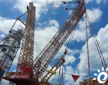 起运公司4000吨履带吊完成海南项目首吊