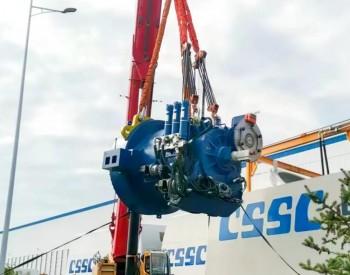 由长安望江公司自主研制的全球首款8兆瓦海上高速风电齿轮箱在<em>中国海装</em>基地完成装配调试