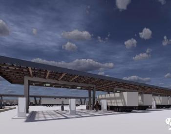 兆瓦级太阳能EV卡车充电站