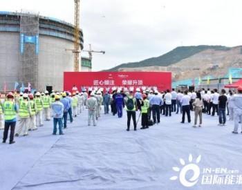 浙江省温州华港<em>液化天然气储罐</em>成功升顶 项目一期工程将于2023年投运