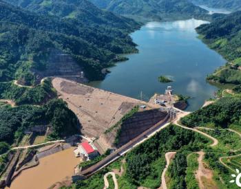 中国电建投资建设的老挝南欧江七级水电站机组并网