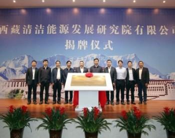 中国能建西藏清洁能源发展研究院成立