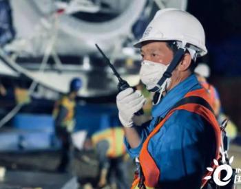 """正式""""落户""""!东方风电越南亚备-达德瓦1&2期项目首台机组完成吊装"""