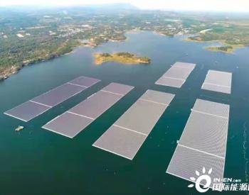 中国能建安徽电建二公司建设泰国诗琳通水上漂浮光