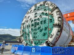 世界首台大直径超小转弯硬岩隧道掘进机助力抽水蓄