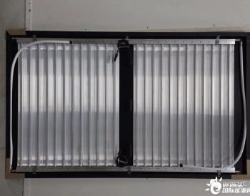 光伏-热混合组件为盐水热泵提供热源
