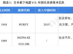 干货!2021年中日<em>锂电池</em>龙头企业对比——日本松下电器VS中国比亚迪