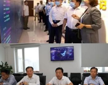 国家矿山安全监察局副局长张昕一行莅临中安传媒调