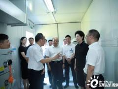 湖南省委副书记乌兰调研华自科技,勉励华自做好储