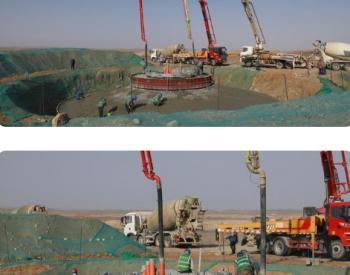甘肃酒泉肃北:<em>鲁能新能源</em>肃北马鬃山20万千瓦风电项目进展顺利