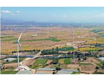 中国能建中南院总承包建设越南宁顺正胜50MW风电项