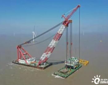 江苏大丰H8-2项目海上升压站圆满吊装!