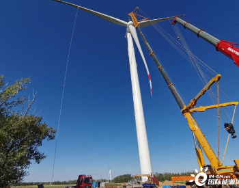 50MW!河北张北郝家营风电项目完成全部风机吊装