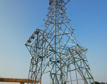 中国能建浙江火电承建的沪苏湖铁路电力线路迁改工