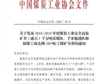 中国煤炭工业协会:截至目前全国已建成973处安全